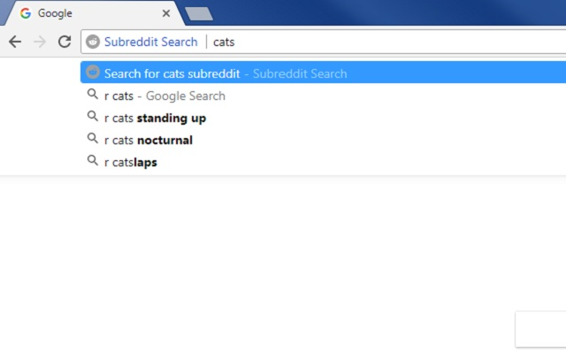 Subreddit Search