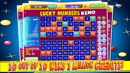 Las Vegas Keno Numbers Free 4.0 screenshots 1