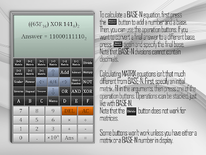 Full Scientific Calculator Screenshot