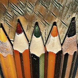 Pencils by Marissa Enslin - Digital Art Things (  )