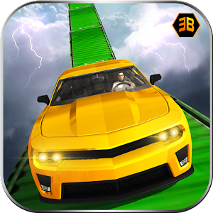 Crazy Car Stunts - Impossible tracks driving sim