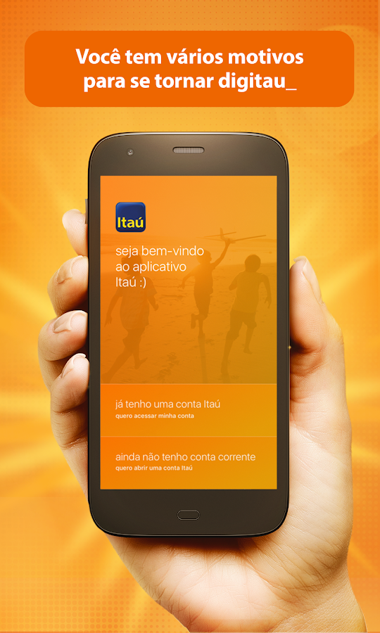Banco Itaú- screenshot