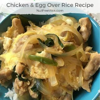 Oyako Donburi (Chicken & Egg Over Rice).
