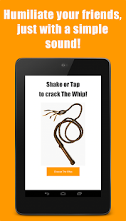 The Whip Sound App- screenshot thumbnail