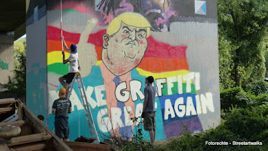 "Photo: Hafendampf 2016;  ILL BOYS ""MAKE GRAFFITI GREAT AGAIN"""