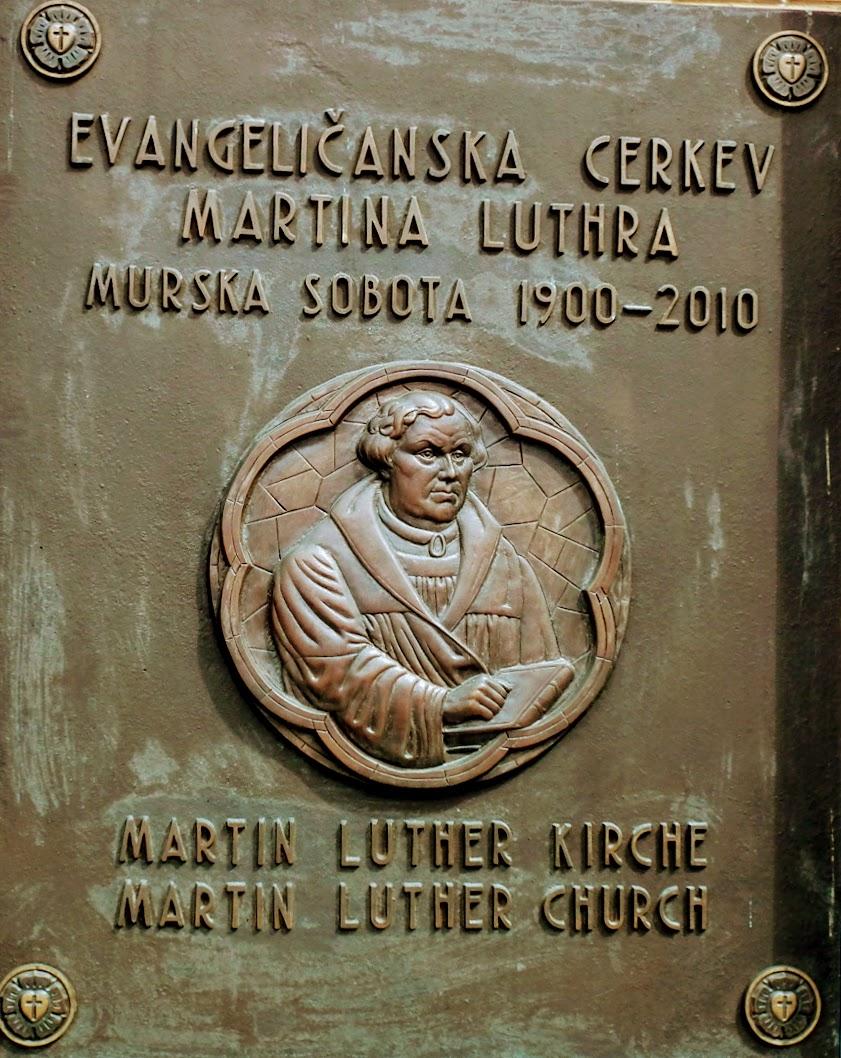Murska Sobota (Muraszombat) - evangeličanska cerkev (evangélikus templom)