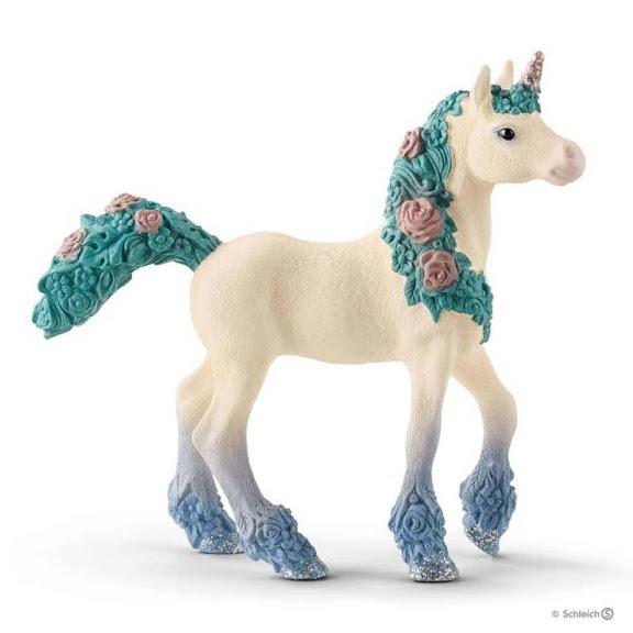Contenido de Schleich® 70591 Unicornio Florido, Potro