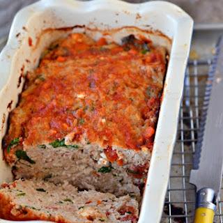 Greek Turkey Meatloaf.