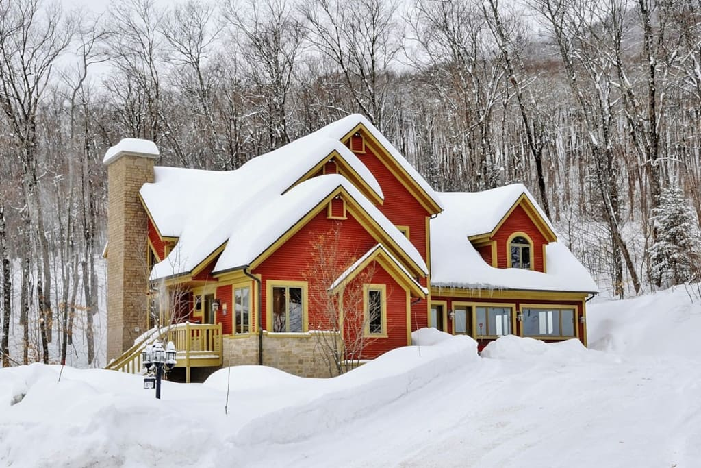 Cottages for rent near a ski mountain in Quebec City #17