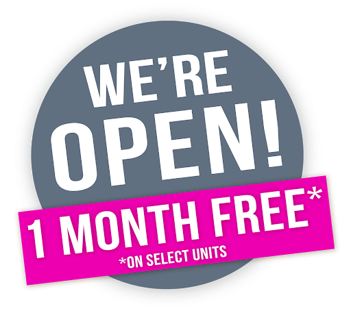 We're Open! 1 Month Free