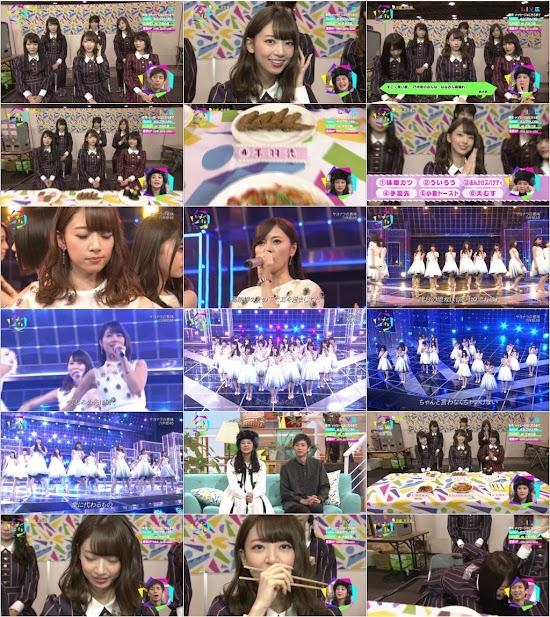(TV-Music)(1080i) 乃木坂46 Part – シブヤノオト 161106