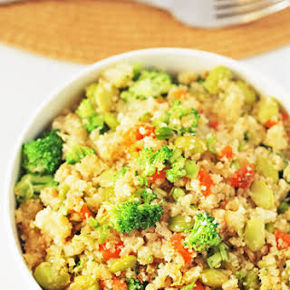 Cauliflower Fried Rice (Gluten Free).