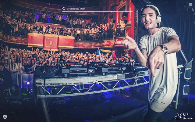 Alesso HD Wallpapers New Tab Theme