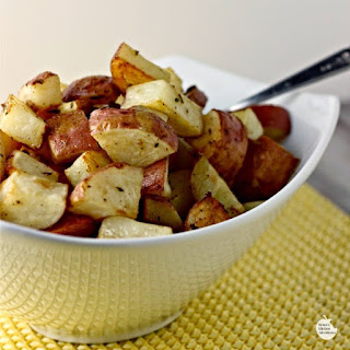 Roasted Rosemary Dijon Potatoes