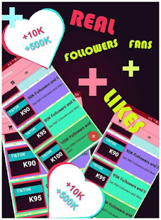 App TikBooster - Fans & Followers & Likes APK for Windows Phone