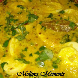 Creamy Egg Curry.