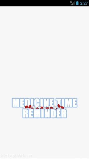 Medicine Time Reminder