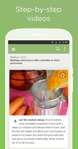 Screenshot 2 for wikiHow's Android app'