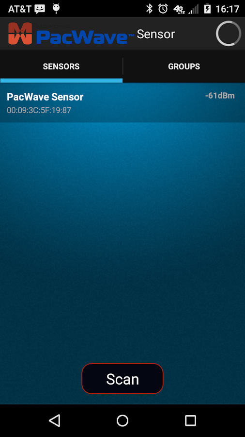 PacWave Sensor- screenshot