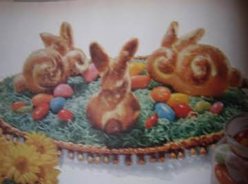 Hopping Easter Bunny Bread