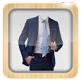 Man Suit Photo Montage icon