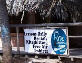 "Photo: Not sure what ""kiteshitting"" is, but don't want any part of it.  Máncora beach, Peru.  June 2012."