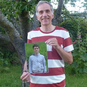 Benoît, parrainé par Guillaume, participe au trail du Sancy pour soutenir le projet de L'Arche à Clermont !