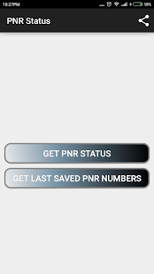 Check PNR status- screenshot thumbnail