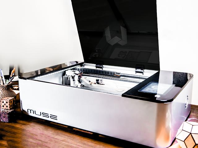 Fsl Muse 45 Watt Laser Cutter And Engraver Matterhackers
