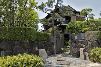 Photo: その際、泰新補強か施されたため、その後の阪神大震災でもほとんど被害がなかったという。