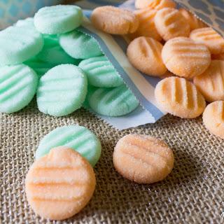 Pumpkin Spice Cream Cheese Mints