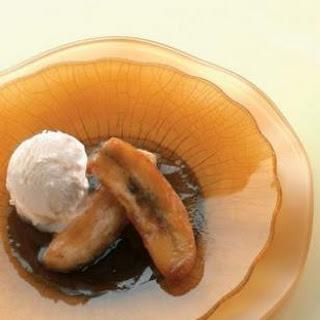 Bananas in Brown Sugar-Rum Sauce.