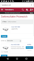Screenshot of Pricewatch Scanner
