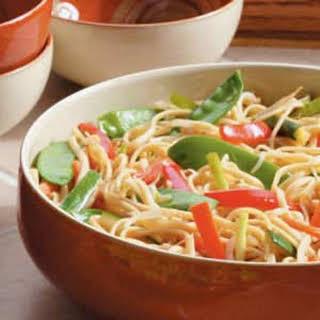 Asian Linguine Salad.