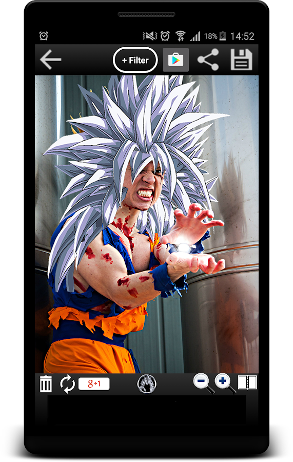Ultimate Super Saiyan Photo- screenshot