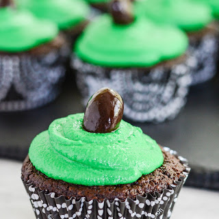 Chocolate Football Cupcakes {dairy free + gluten free}