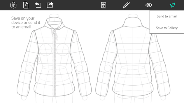 Fashion Design Flat Sketch APK screenshot thumbnail 6