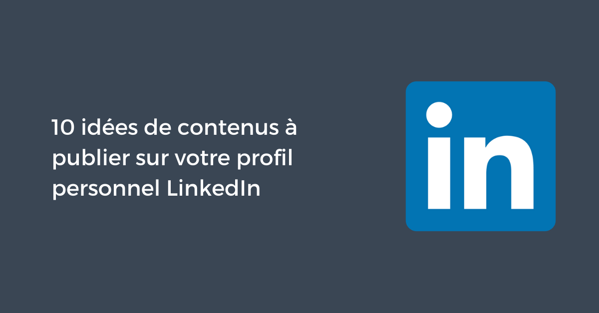 Profil Personnel Linkedin