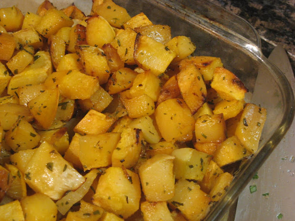 Roasting Rutabagas Recipe