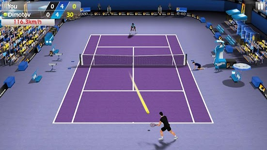 3D Tennis- screenshot thumbnail