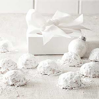Coconut-Pecan Snowballs.