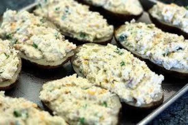 Gorgonzola Twice-baked Potatoes With Bacon Recipe