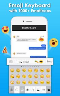 Download Emoji Keyboard- Funny Stickers, Cute Emoticons For PC Windows and Mac apk screenshot 2