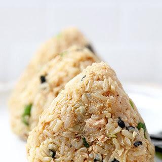 Tuna And Sesame Omusubi (Rice Balls).