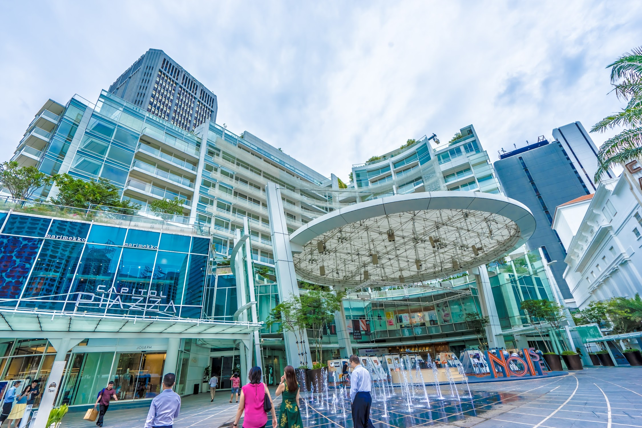 シンガポール キャピトル・ピアッツァ1