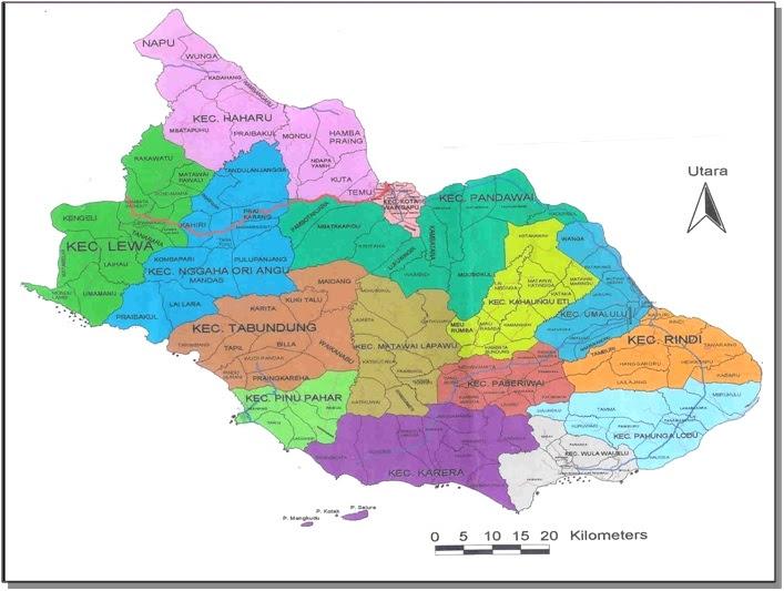 Website Resmi Pemda Sumba Timur | Wilayah Administrasi