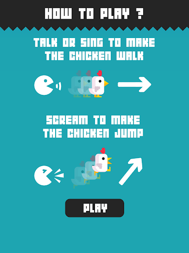 Chicken Scream game (apk) free download for Android/PC/Windows screenshot