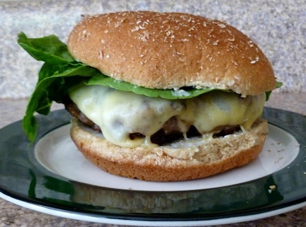 Beefy Onion Gouda Burger Recipe