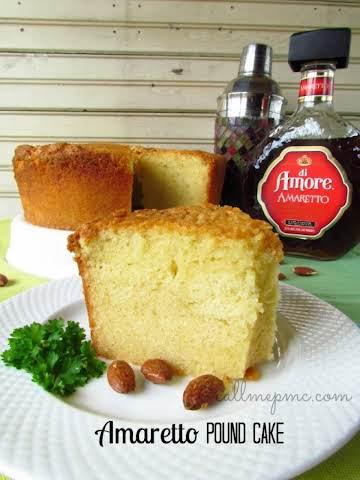 Amaretta Pound Cake