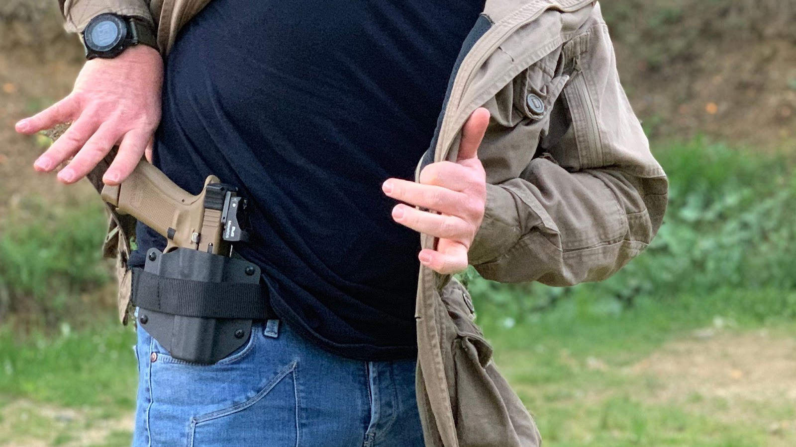 3 oclock position concealed carry